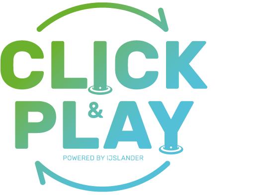 click & Play logo